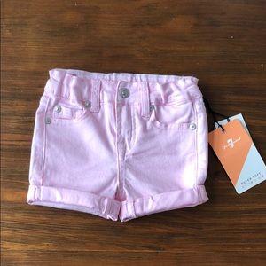 Pink 7FAMK shorts- 2T